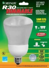 Dimmable Spot Light Compact Flourescent