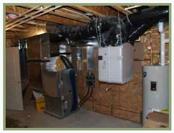 Geothermal Heat Exchange Unit (photo:  Neumann Developments)