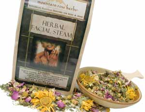 Mountain Rose Herbs: Herbal Facial Steam