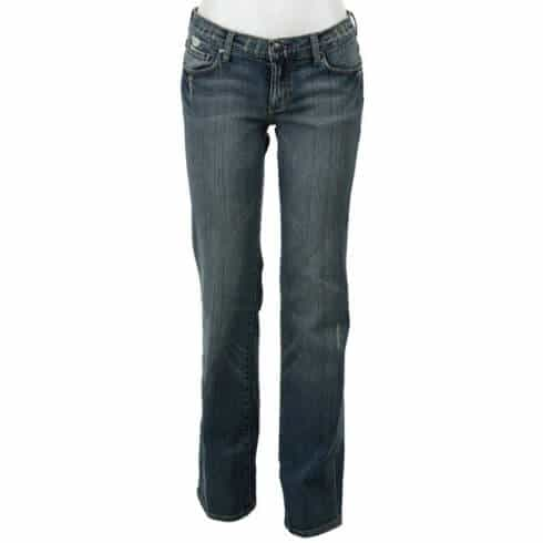 See Thru Soul Women's 5-pocket Organic Jeans