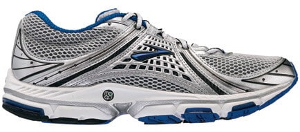 Brooks Trance With Biodegradable BioMoGo (photo: Brooks Sports, Inc.)