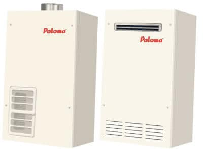 RESIDENTIAL TANKLESS GAS WATER HEATERS (NATURAL GAS and PROPANE models only) Please click on heater images for more details. A Full-line of Tankless Water Heaters for