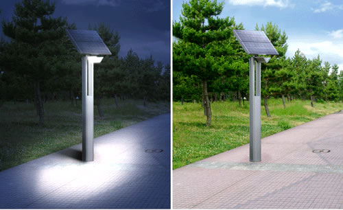 Solar Powered LED Street Light by Sharp
