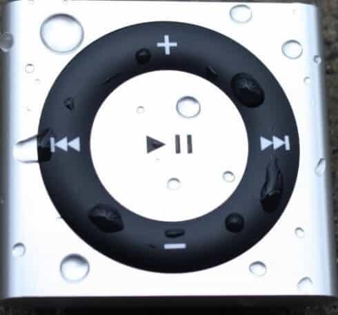 H20Friendly 100% Waterproof iPod Shuffle