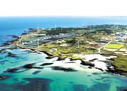 South Korea wind solar energy